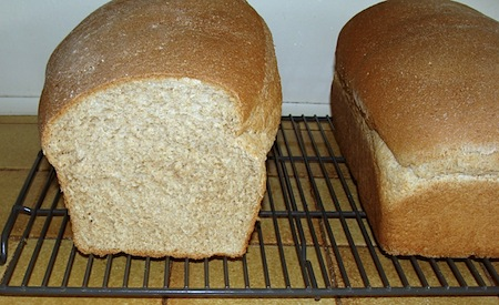 Soft WW Sandwich Bread cut loaf