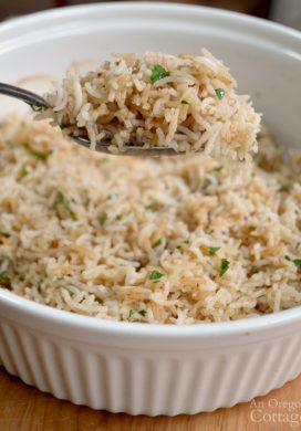Simple & Delicious: Grandma's Baked Tasty Rice Recipe