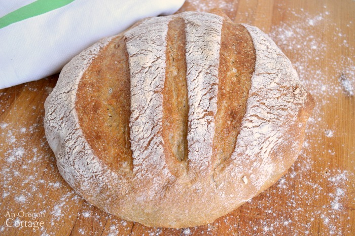 The easiest artisan bread ever
