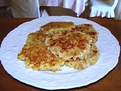Parmesan Rice Cakes