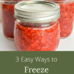 3 easy ways to freeze strawberries