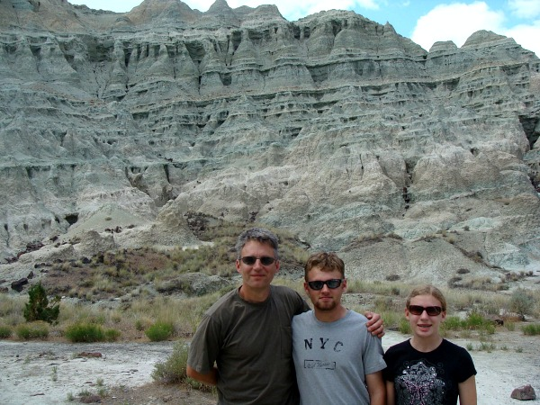Blue Basin in John Day Fossil Beds