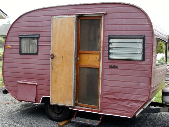 1957 Dalton Vintage Trailer in 2009