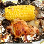 Easy Camping Chicken Foil Dinner makes camp meals a breeze.