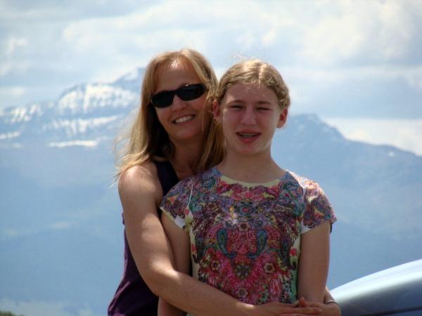 Jami-Emma at Strawberry Mountains