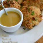 Maple Mustard Baked Chicken - An Oregon Cottage