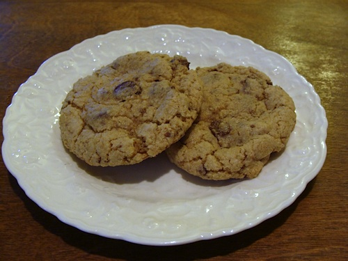 Oat-Wheat-Chocolate-Chip-Cookie