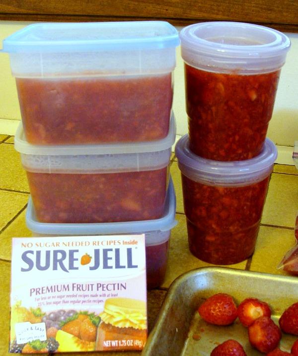 SureJell Strawberry Freezer Jam