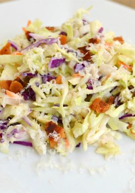 Caesar Slaw with Bacon