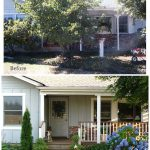 Exterior Front Door Before-After - An Oregon Cottage