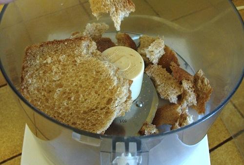 making bread crumbs