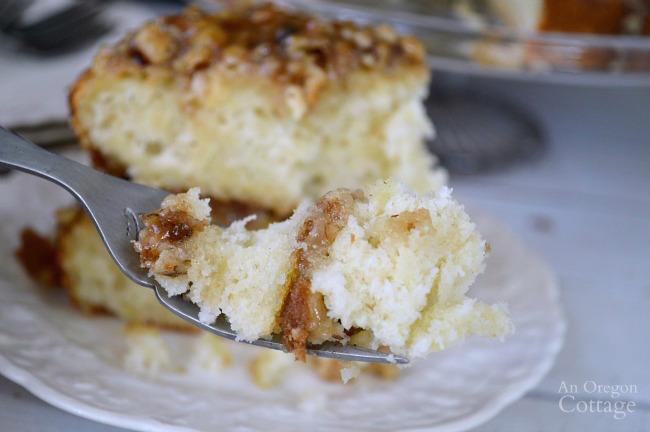 Amazing White Zucchini Cake