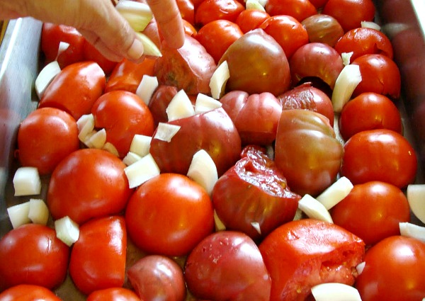 Freezer roasted tomato sauce-step5