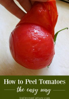 How to Peel Tomatoes The Easy Way For Canning & Preserving
