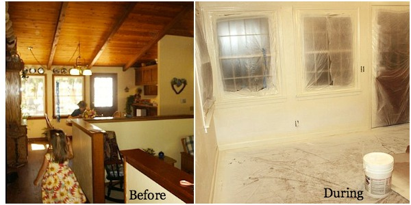 Remodeling Series Dining Room Before and After - An Oregon Cottage