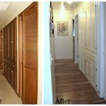 Remodeling Series Hallway Before and After - An Oregon Cottage