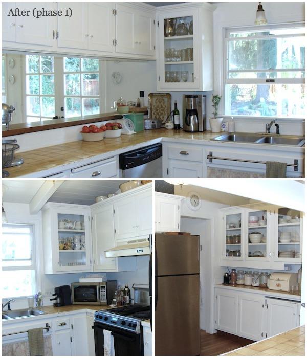 Remodeling Series Kitchen After Phase 1 - An Oregon Cottage