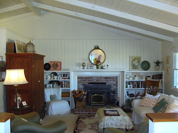 Remodeling Series - Living Room After - An Oregon Cottage