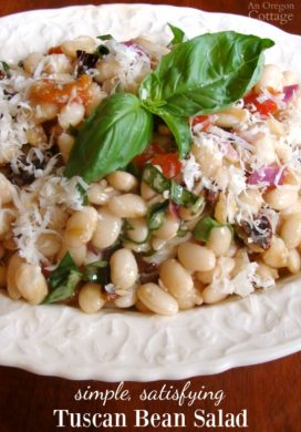 Tuscan White Bean Salad pin