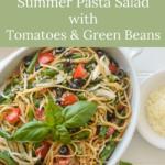 quick summer pasta salad