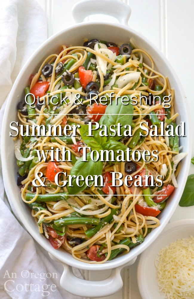 refreshing summer pasta salad
