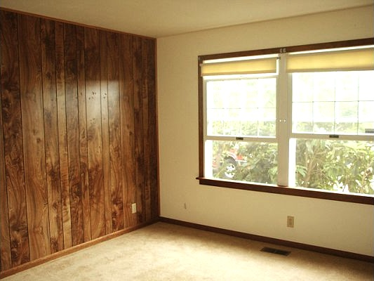 Bedroom 1 before - An Oregon Cottage