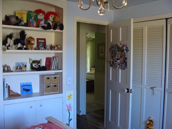Bedroom 2 Door-Closet After - An Oregon Cottage