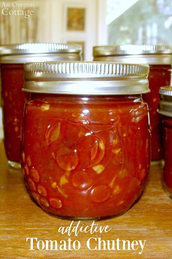 Canned Tomato Chutney