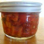 Canned Tomato Bruschetta