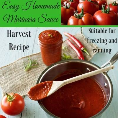 Homemade Marinara Sauce at Homemade Food Junkie