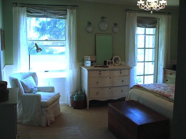 Remodeled Master Bedroom - An Oregon Cottage