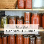 Water bath canning tutorial-a step-by-step guide to putting up your own produce