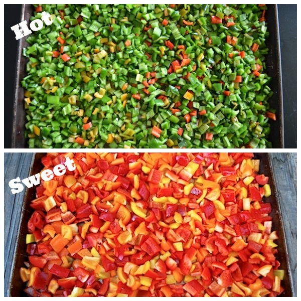 Freezing Hot and Sweet Peppers - AnOregonCottage.com