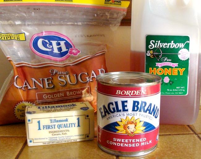 Homemade Caramel Apple Dip Ingredients