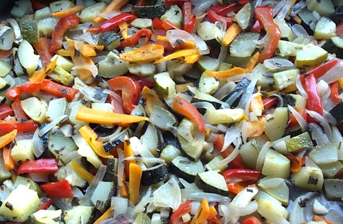 lemon roasted vegetables