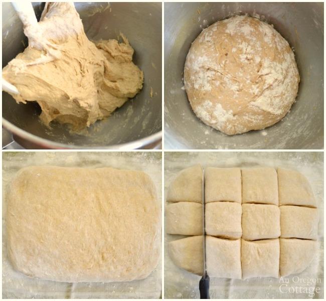 Making quick and tender hamburger buns