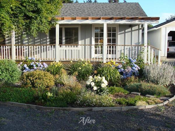 Remodeled Garage Outside After - An Oregon Cottage