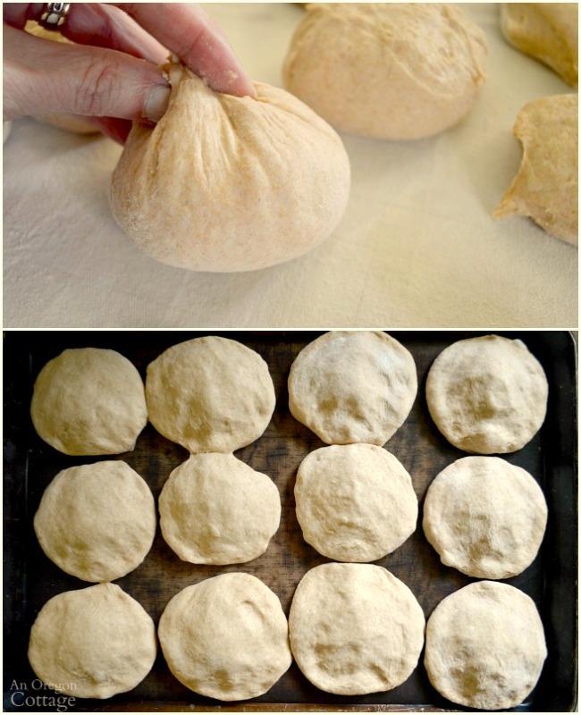 Shaping quick-tender hamburger buns