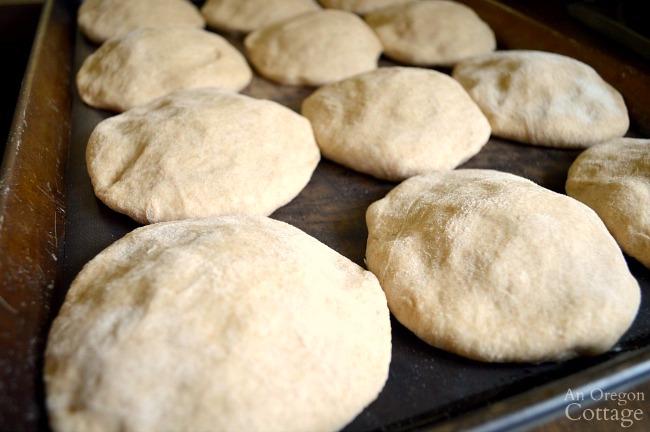 Soft-Tender Hamburger Buns ready for oven