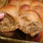 Soft & easy 100% Whole Wheat Rolls