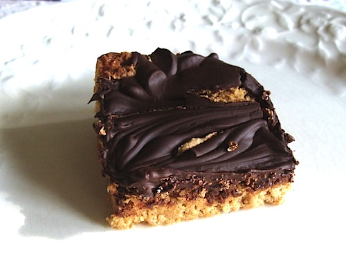 peanut butter swirl bars