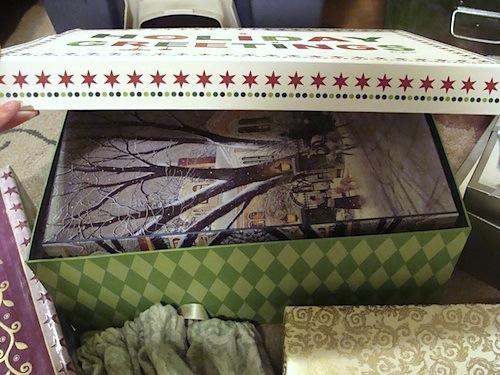 Box stored in bigger box