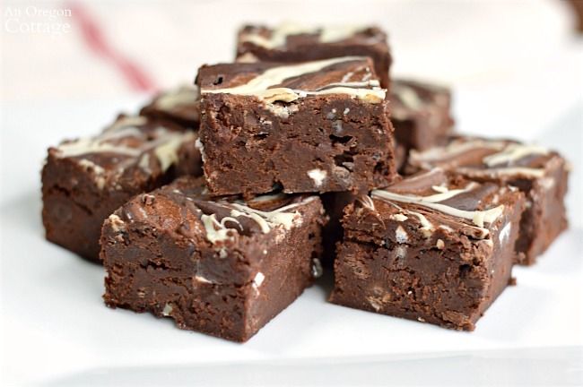 Make this quadruple chocolate decadent brownie recipe for moist and delicious results