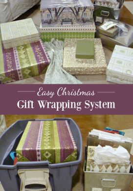 An Easy Gift Wrapping System + Free Printable Gift Tags