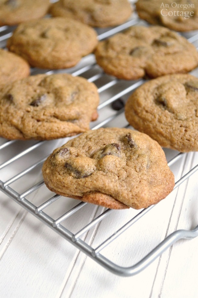 Flavorful mocha chip cookies