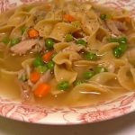 traditional turkey noodle soup