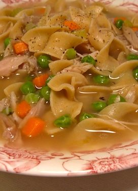 traditional turkey noodle soup