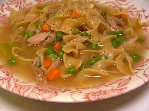 Think you can't make a traditional turkey (or chicken) noodle soup? Think again! You'll never want canned soup again after tasting this recipe.