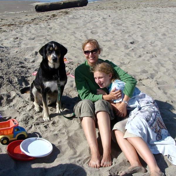 Samson-Family at Beach
