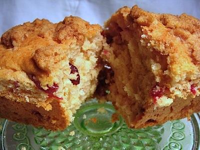 cranberry crumb loaf